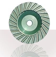 Turbo Aluminum Core Cup Wheel