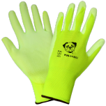 Yellow Light High Visibility Safety Gloves